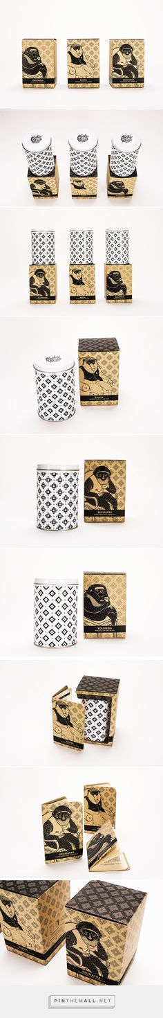 MORTY BLACK coffee package design