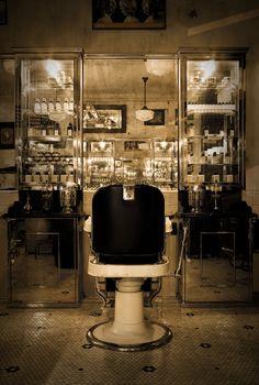 Classic barbershop.