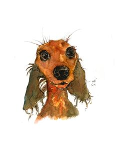 Post with 17 votes and 1194 views. sketch for /u/kittenbritches Dachshund Art, Funny Dachshund, Funny Dogs, Daschund, Weenie Dogs, Doggies, Dog Paintings, Acrylic Paintings, Dog Rules