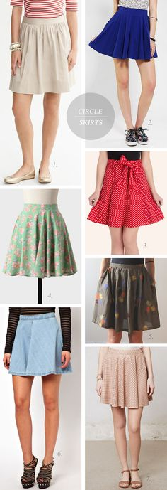 The Short Circle Skirt Trend // Bubby and Bean