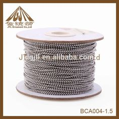 Source Fashion nice small 1mm metal ball chain for jewelry on m.alibaba.com