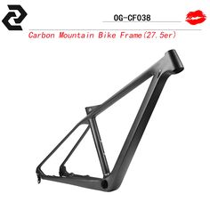 "OG-EVKIN 27.5er mtb frame carbon fiber mountain frame 27.5"" UD matt size 15.5/16.5  bike frame"