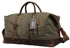 Iblue Unisex 21.6 Inch Oversized Canvas Leather Travel Duffel Bag Casual Sports Tote Handbag#012031  http://www.alltravelbag.com/iblue-unisex-21-6-inch-oversized-canvas-leather-travel-duffel-bag-casual-sports-tote-handbag012031-2/