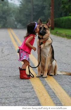 Big Dogs And The Little Humans Who Love Them – 16 Pics