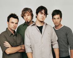 Jars of Clay- One of my all-time favorite bands since high school. They rock...er they folk rock. ; )