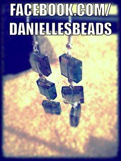 Earring that Danielle's Beads made   WWW.Facebook.com/Daniellesbeads
