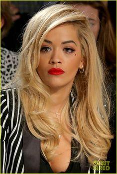 Rita Ora Photos Photos: Diesel Black Gold - Front Row - Mercedes-Benz Fashion Week Spring 2015 in 2020 Rita Ora Pictures, Oras, Rock Style, New Hair, Hair Makeup, Beautiful Women, Beautiful Things, Hair Color, Hair Beauty