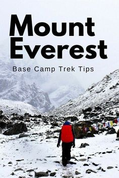 Having completed the trek myself, here are some important tips on how to survive the journey to Everest Base Camp.