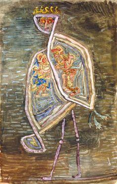Afbeelding Paul Klee - Phoenix coniugalis 1932