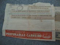 telegrama antigo propaganda casa carneiro