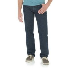 Wrangler Men's Advanced Comfort Breathe-Dri Wicking Regular Fit Jean, Size: 34 x 29, Gray