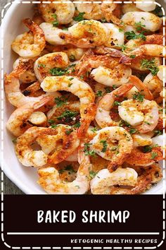 Healthy Meals A quick, tasty recipe for baked shrimp with butter, garlic and Parmesan. via - A quick, tasty recipe for baked shrimp with butter, garlic and Parmesan. Baked shrimp are the ultimate healthy fast food - they are ready in ten minutes! Fast Healthy Meals, Healthy Food Blogs, Healthy Recipes, Healthy Baking, Easy Meals, Dinner Healthy, Quick Recipes, Fennel Recipes, Snacks