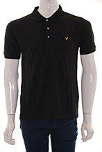 Lyle and Scott Mens Polo Shirt Black c_XL Vintage Regular Fit - Various Size Options