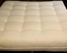 Cotton Cloud Futons - Alberta Style - Deluxe Cotton and Foam Core California King Size Futon