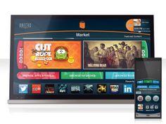 Directus Smart TV UI design by Brandon Dierker, via Behance