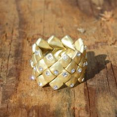 Stacked Stones Ring