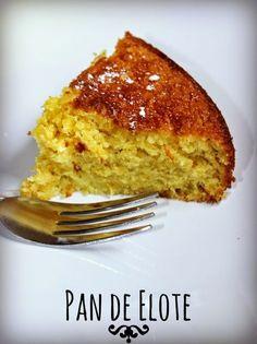 Como hacer pan de elote, receta facil  #Pandeelote #Mexicana by www.unamexicanaenusa.com
