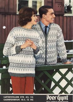 Sætervollen 779 S Norwegian Knitting, Color Combinations, Norway, Christmas Sweaters, Knitting Patterns, Men Sweater, Retro, Fashion, Threading
