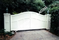 Wooden driveway gates in christchurch nz garden for Archway garage doors simi valley