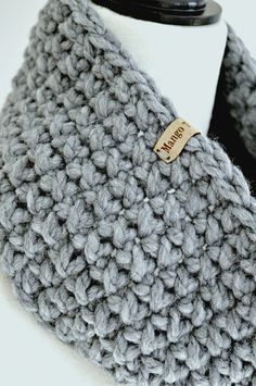 This bulky crochet cowl is fast and easy to make - I was able to crochet one in half an hour using a super bulky yarn (#6). I made...