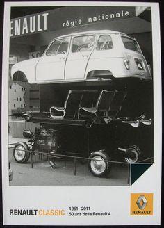Old advertising | Renault 4L