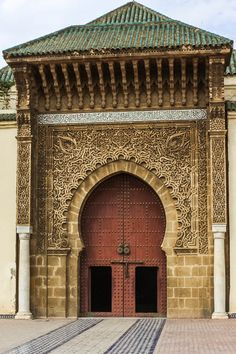 Doorways and archways in Morocco