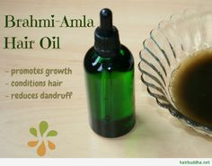 Brahmi-Amla Hair Oil is well-known for its hair nourishing benefits.This superb hair tonic reduces hair loss, promotes growth, and makes hair thick and shiny