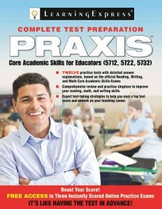 @Overstock - Praxis Core Academic Skills for Educators: 5712, 5722, 5732 (Paperback) - Praxis Core tests measure skills in reading, writing and mathematics. Universities may use the Core tests to evaluate individuals for entry into teacher education programs, and many states also require Core scores as part of their licensing...  http://www.overstock.com/Books-Movies-Music-Games/Praxis-Core-Academic-Skills-for-Educators-5712-5722-5732-Paperback/8548103/product.html?CID=214117 $15.05