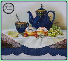 Tea Pots, Tableware, Paint For Kitchen, Teapot, Painting On Fabric, Colors, Dinnerware, Tablewares, Tea Pot