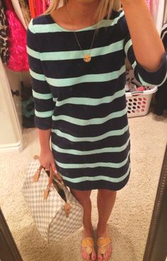 I need to get a ton of these kinds of dresses for work this fall...perfect for class as well