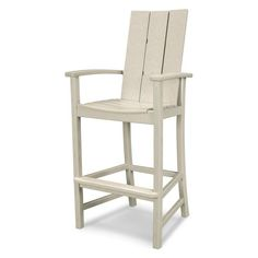 Shop for Trex Outdoor Furniture Cape Cod Adirondack Counter Chair. Get free delivery On EVERYTHING* Overstock - Your Online Garden & Patio Shop! Patio Bar Stools, Patio Dining, Bar Chairs, Dining Chairs, Pink Chairs, Patio Chairs, Office Chairs, Room Chairs, Dining Set