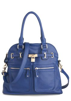 Girl with Curves Bag in Cobalt   Mod Retro Vintage Bags   ModCloth.com Carry 14c5f86732