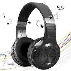 Bluedio HT H-Turbine Wireless Bluetooth Hands Free Headset Super Bass Music Headphone with Mic Line-in Socket for Smartphones Computer and Tablet PC  $57.54