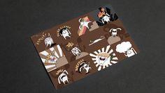 Stickers, Illustration
