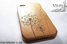 Natural bamboo iPhone 5 case