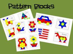 Mrs. Wills Kindergarten: Math Work Stations Blog Party Chapter 7 Geometry