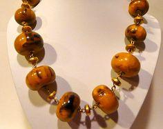 Vintage Les Bernard Bakelite Necklace