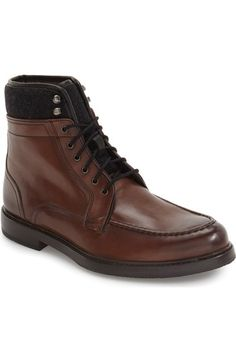 67b42054f4ead4 Main Image - Ted Baker London  Hickut  Moc Toe Boot (Men) Moc