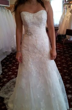Wedding Dress Photo By On Weddingbee Here Is The Im Thinking Of Buying Honest Opinions Please