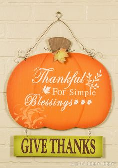 We're thankful for so many simple blessings! Celebrate this season with our projects and craft ideas!