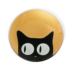 Side Cat Eye Glass Plate Gold, now featured on Fab.