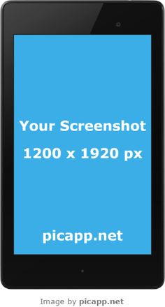 Add your mobile app screenshot image to an iPhone frame, iPad frame or Android device frame. Nexus 7, Google Nexus, Mobile App, Mockup, Frames, Image, Style, Swag, Frame
