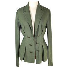 Linen jacket Free People Green size S International in Linen - 7839339 Linen Jackets, Jackets For Women, Clothes For Women, Free People Jacket, Double Breasted Jacket, Luxury Consignment, Suit Jacket, Coat, Long Sleeve