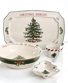 Spode Serveware, Christmas Tree