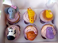 animal cupcakes  www.sweetcupcakesymas.com