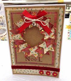 Star wreath card