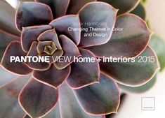 Pantone has some color predictions for 2015 home colors.