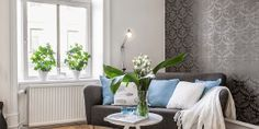 Un apartamento con típico estilo nórdico.