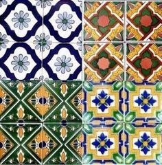 5 Different Dollhouse Floor Tile Sheet Paper Or Peel N