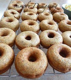 Zucchini Donuts with babycakes Donut Maker - Simply Designing with Ashley Mini Donut Maker Recipes, Babycakes Donut Maker, Babycakes Recipes, Healthy Snacks, Healthy Recipes, Healthier Desserts, Yummy Recipes, Pumpkin Donuts Recipe, Treats